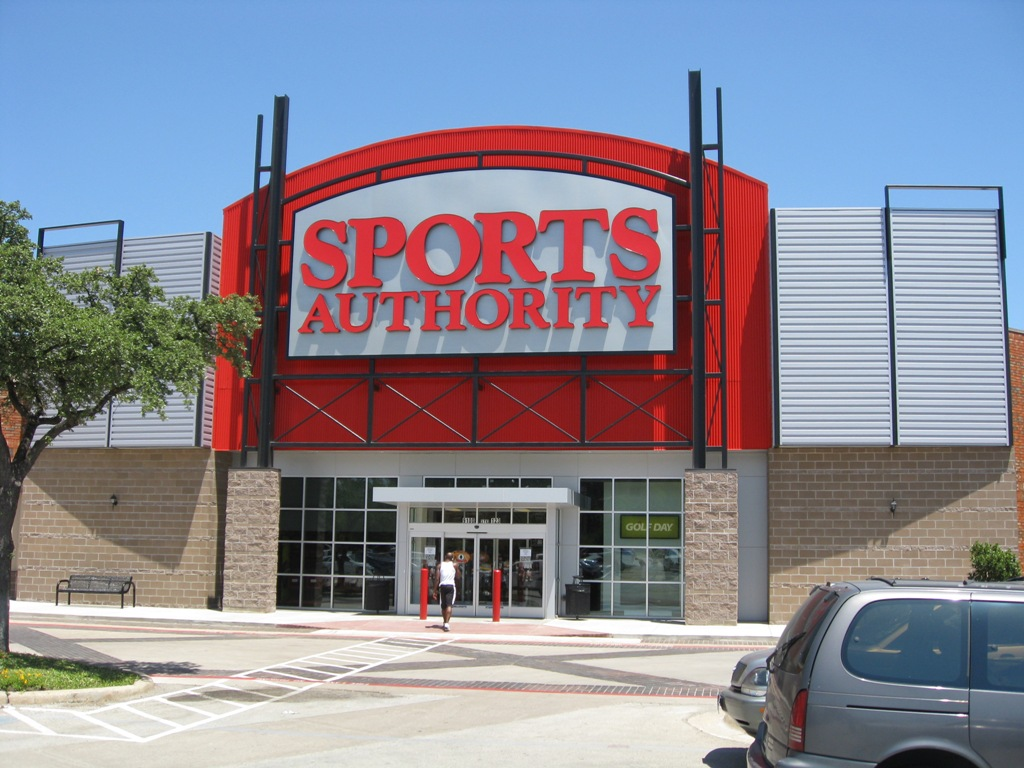 sports authority atlanta gafollowers business locations going bankruptcy sales local dallas roof