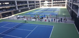 New practice courts for the BB&T Atlanta open