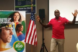 Carl Lewis talk X1 and the Olympics