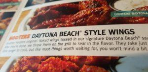 Daytona Beach Style Wings