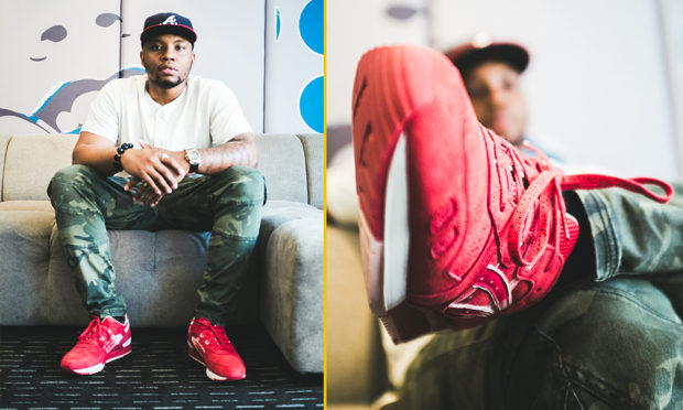 Josh Jelks - GAFollowers (Footaction Photo Shoot)