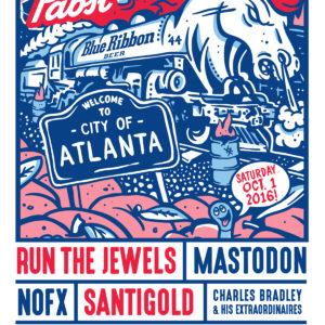 Project Pabst, Georgia, Atlanta, festival, East Atlanta, East Atlanta Village, East Atlanta, Run the Jewels, Santigold, The Internet