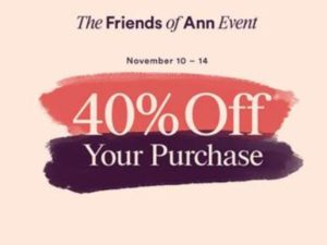Friends of Ann Taylor