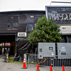 Photo: Jonathan Phillips     The Masquerade has been an Atlanta music staple for decades. Demo has begun on the outside music park.