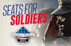 Honoring soldiers at Atlanta Motor Speedway