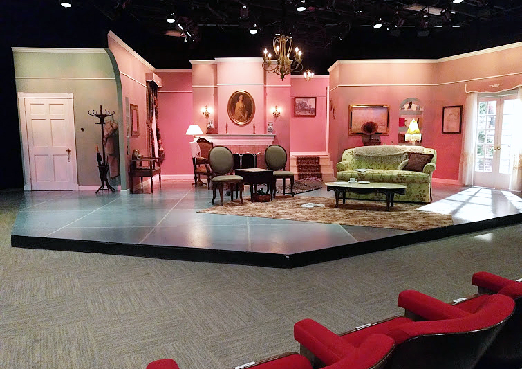 Theater Set at Stage Door Players