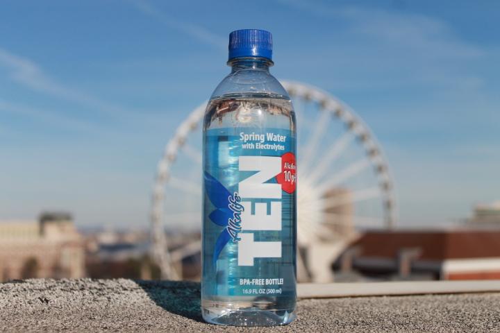 TEN spring water