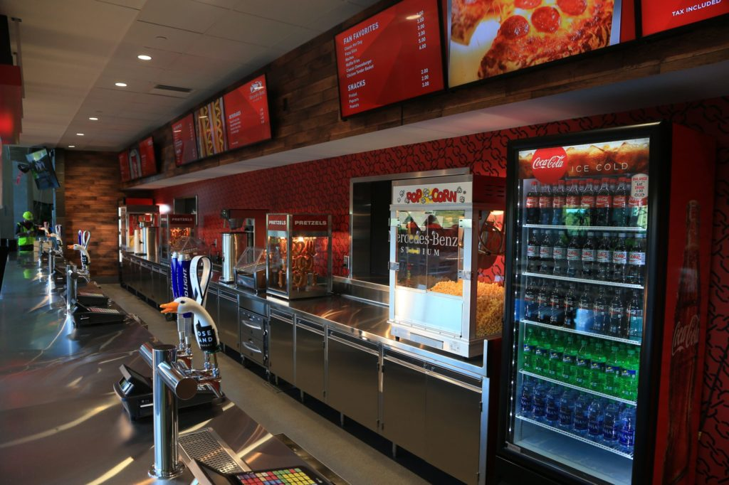 Cheap concession prices are totally working for atlanta 39 s for Who owns mercedes benz stadium