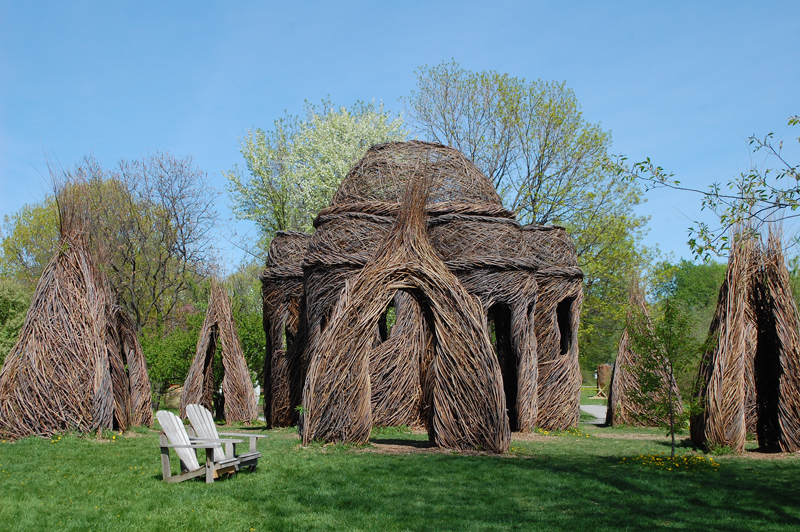 Land Sculptures at Montreal Botanic Garden