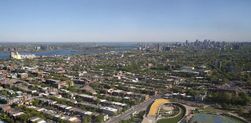 View from the Montreal Tower