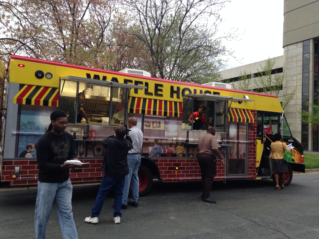 Waffle House Debuts New Catering Truck For Events Gafollowers