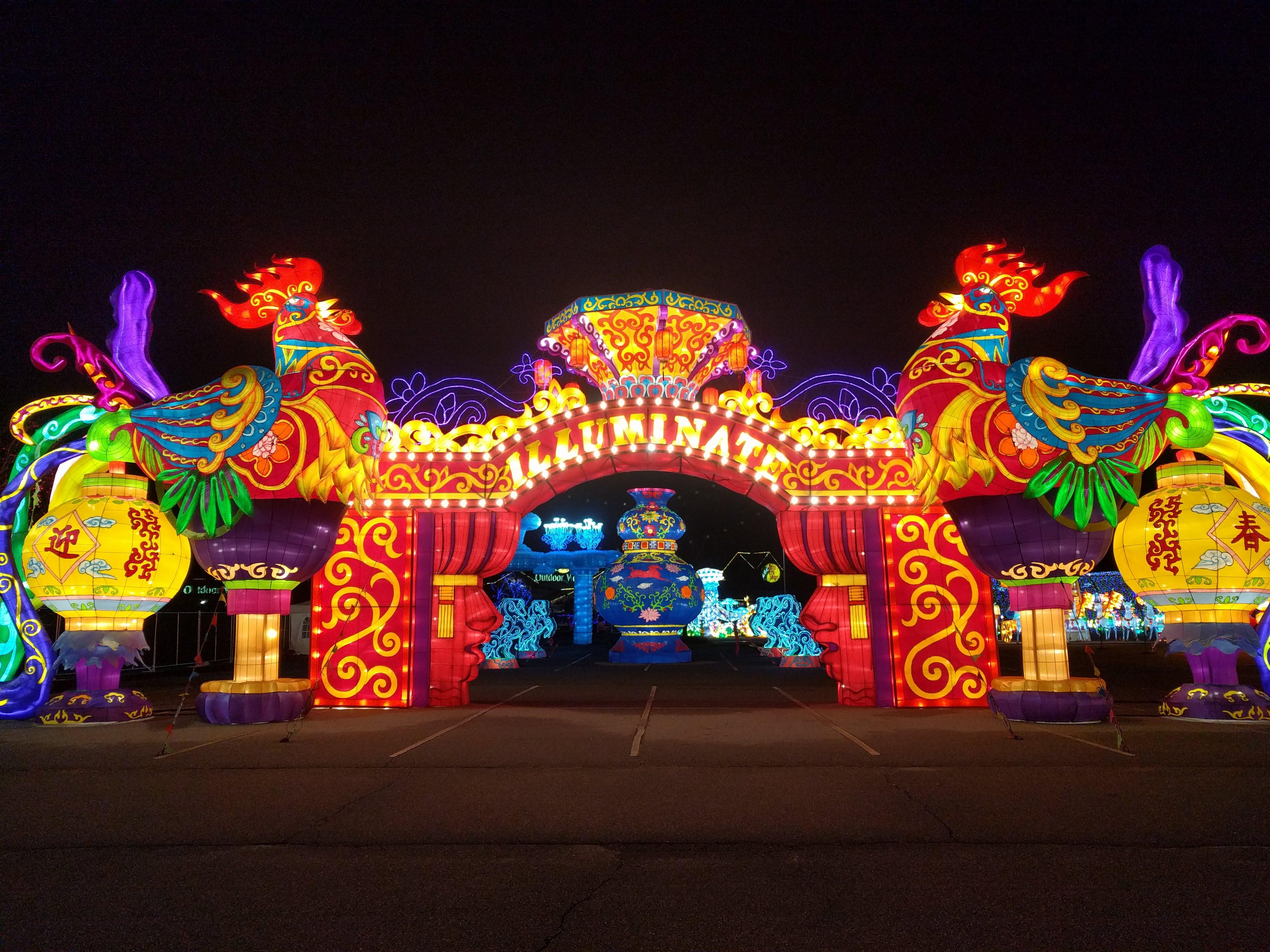 Illuminate Chinese Lantern Festival Lights Up ...
