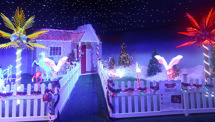 Tacky Yard at Santa's Fantastical