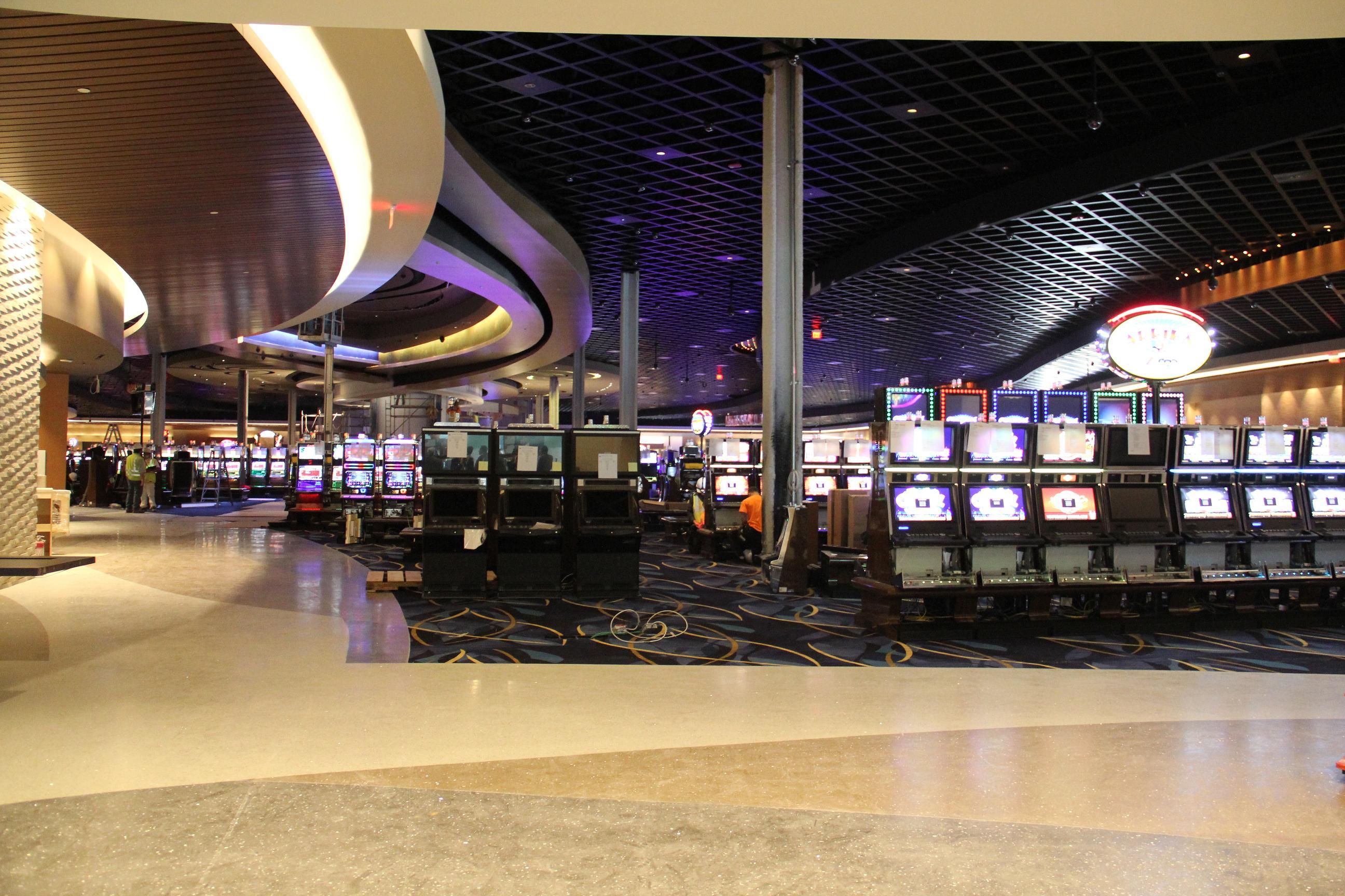 Casino floor construction pitg gambling majestic star