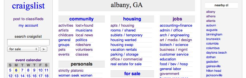 Albany Craigslist Gafollowers