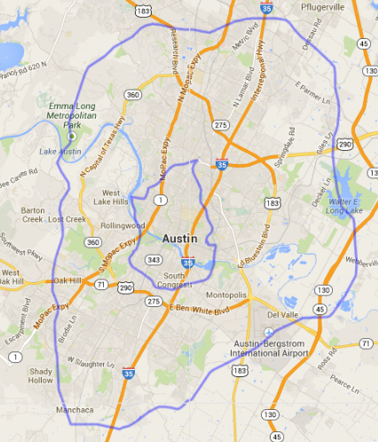 Map Of Atlanta Perimeter How Big is Atlanta? World Cities That Fit Inside Atlanta's Perimeter