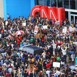 Atlanta protest for Michael Brown