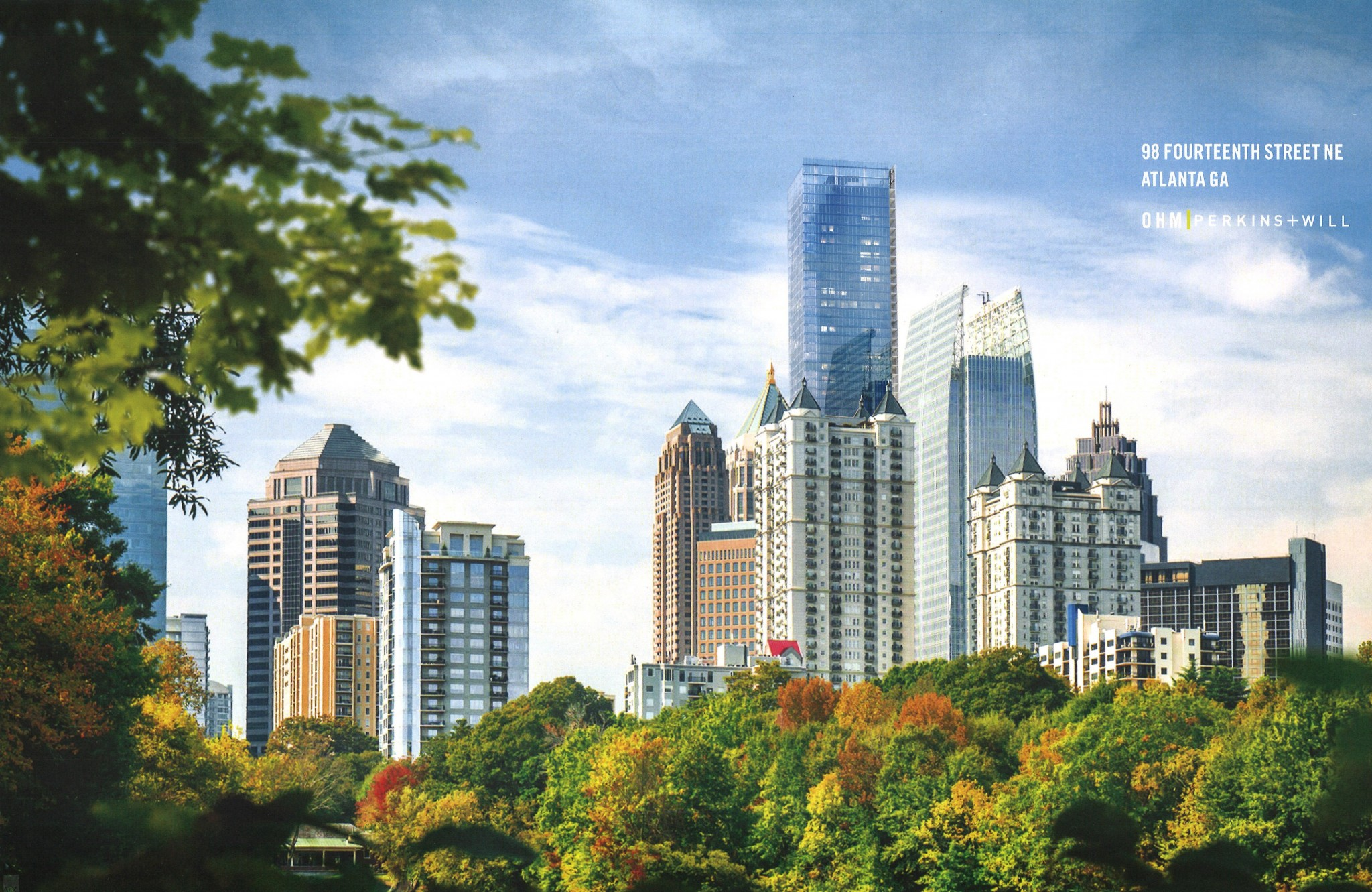 New Midtown Skyscraper Coming To Atlanta 98 Fourteenth