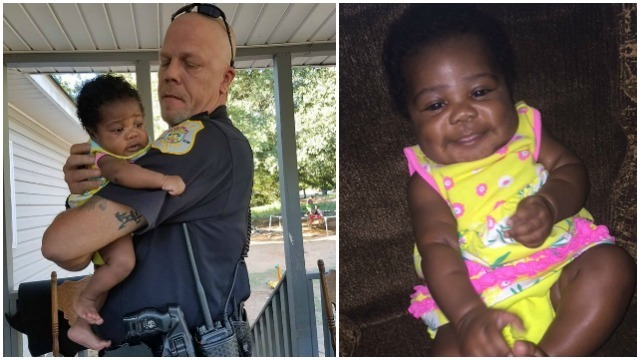 Officer who saved babys life becomes her Godfather | CW39
