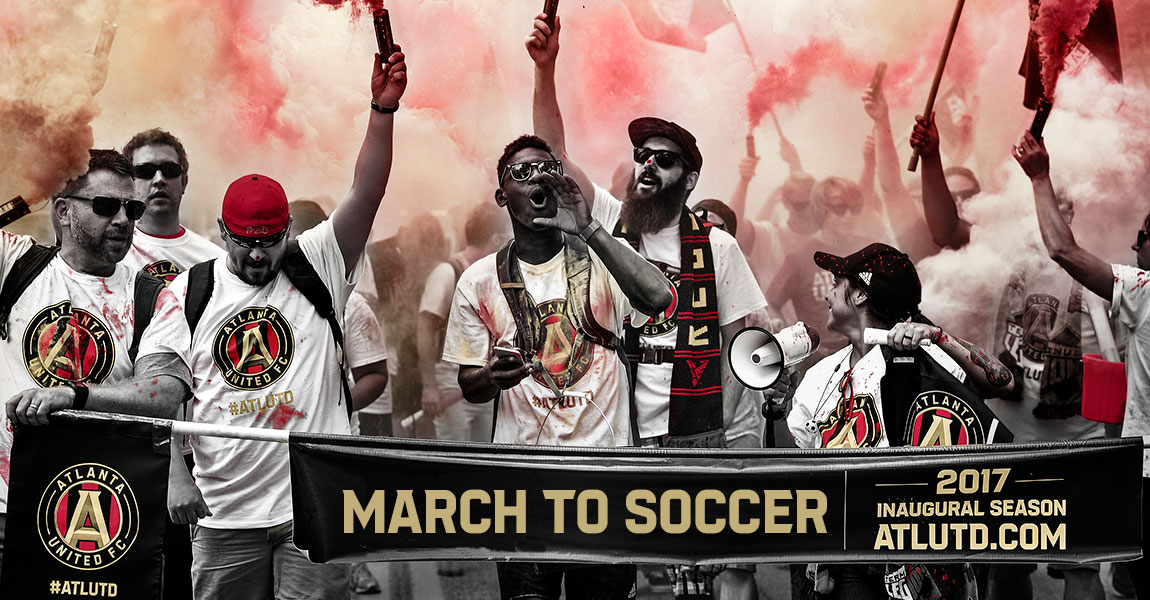 quality design 1b1c9 71f3e Atlanta United's March to Soccer - GAFollowers