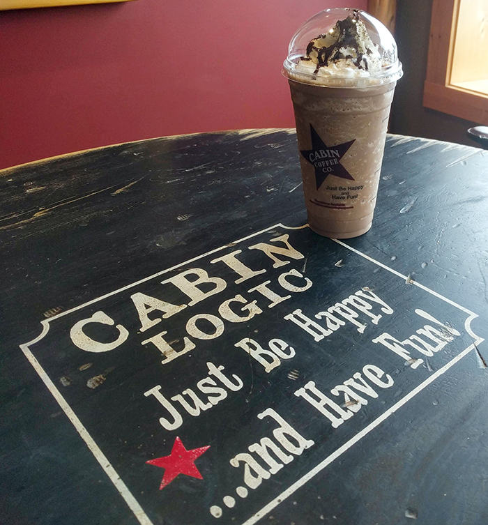 Cabin Coffee Frappe in Blairsville