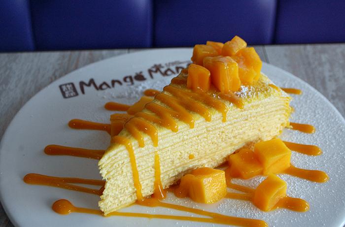 Crepe Cake at Mango Mango Dessert